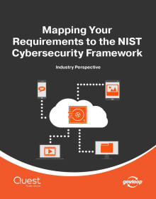 Mapping Your Requirements to the NIST Cybersecurity Framework